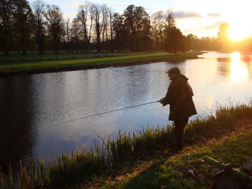 This Gentleman's love of fishing is easily apparent, and his encyclopaedic knowledge of antique tackle, piscatorial current affairs makes for fantastic conversations... Http://talesbytheriverbank.wordpress.com