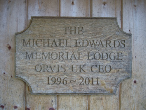 paying respect to the late Michael Edwards
