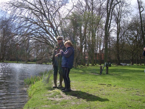 magic moment - I wish Oscar and his Dad  a lifetime of safe and exciting fly fishing adventures together